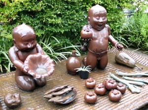 street sculpture in Gifu