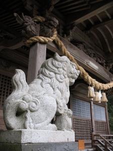 Shrine at Gyoran Waterfall Park