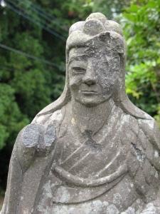 Weathered Statue- Kobo Daishi?